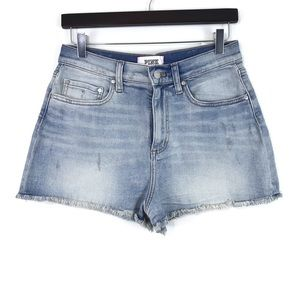 Pink Victoria's Secret High Waisted Jean Shorts 10